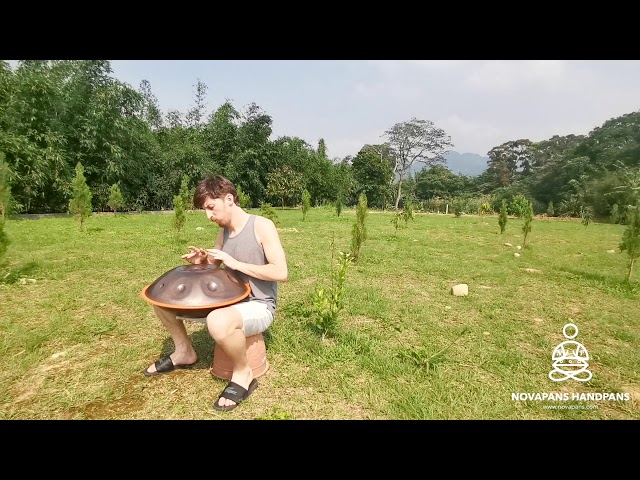 9 Note Handpan in D Sabye Major | Handpans Players | Novapans Handpans