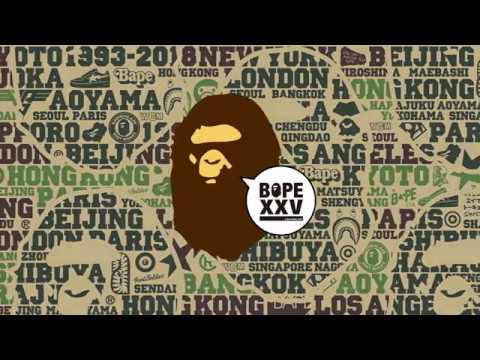 """A BATHING APE® 25th ANNIVERSARY """"BAPE XXV"""""""
