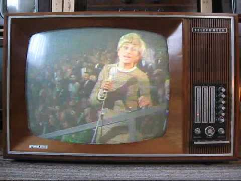 First Telefunken Colour Tv Set Palcolor 708t From 1967