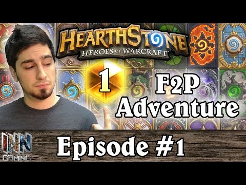 Hearthstone: Warshack Plays A Free To Play Account Ep. 1