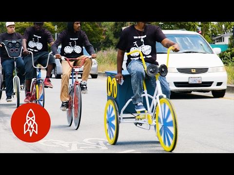 Riding Through Oakland With The Original Scraper Bike Team