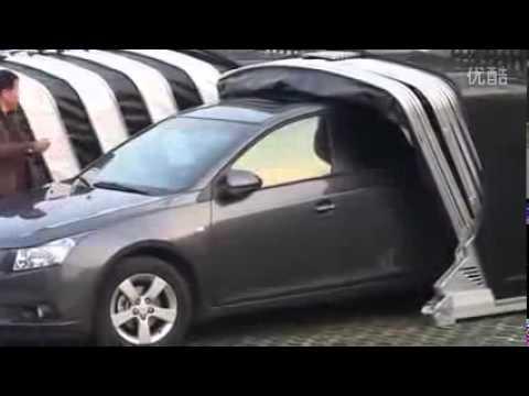 Брезентовые шторы Шторы для гаража - YouTube