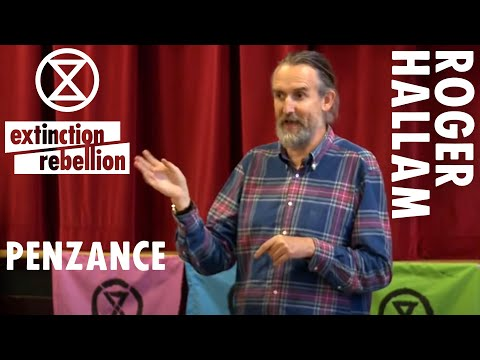 """""""Time to Act Now"""" Roger Hallam   Extinction Rebellion"""
