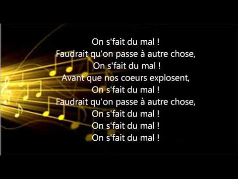 On s'fait du mal Lyrics Black M