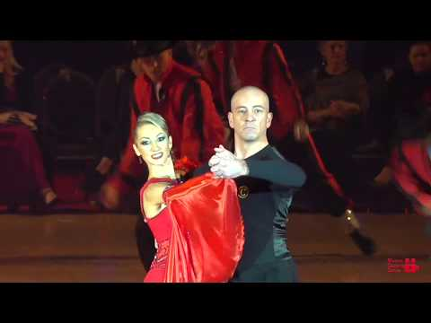 GIAMPIERO AND ANNA | OHIO STAR BALL 2018 | ALL STAR SHOW | TANGO