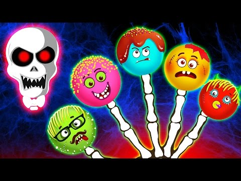 Funny Cake Pops Finger Family and Many More Nursery Rhymes by Teehee Town