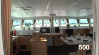 Катамаран Lagoon 500(Большая пятизвездочная яхта Lagoon500 компании Яхт вояж для морских путешествий и круизов, чартер яхт, аренда..., 2010-12-15T13:53:51.000Z)