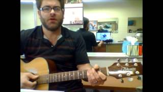 """How to play """"Loser"""" by 3 Doors Down on acoustic guitar"""