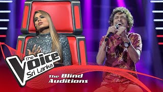 Ishan Najith - When I Was Your Man | Blind Auditions | The Voice Sri Lanka Thumbnail