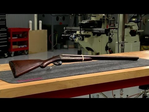 Gunsmithing - Repairing a Remington 1900 Double Barrel Shotgun