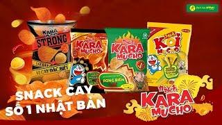 Review Bánh snack cay SỐ 1 Nhật Bản KARAMUCHO - Bách hóa XANH