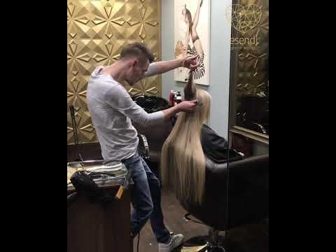 Ленточное наращивание волос СПб