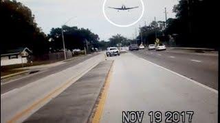 Dashcam-Video: Bruchlandung auf US-Highway
