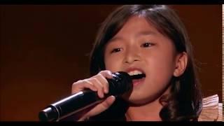 Celyn Tam      Golden buzzer  The best kids singer Americas Got Talent 2017