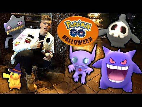 NEW GEN 3 POKEMON! Halloween Pokemon Go Event 2017