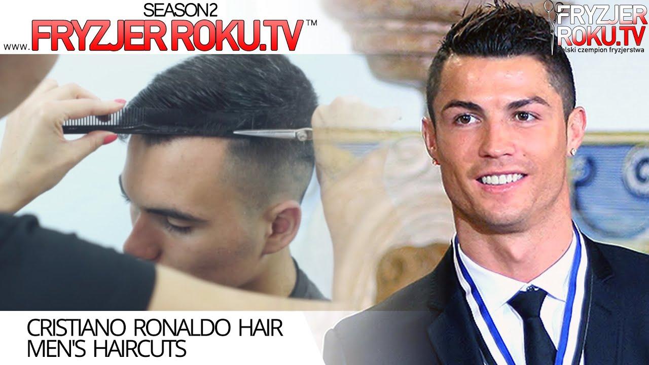 Cristiano Ronaldo Hair Mens Haircuts Fryzjerrokutv Youtube