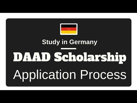 DAAD Scholarship Germany Application Process - How to apply for DAAD Scholarship?