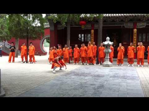Examen Shaolin Forma