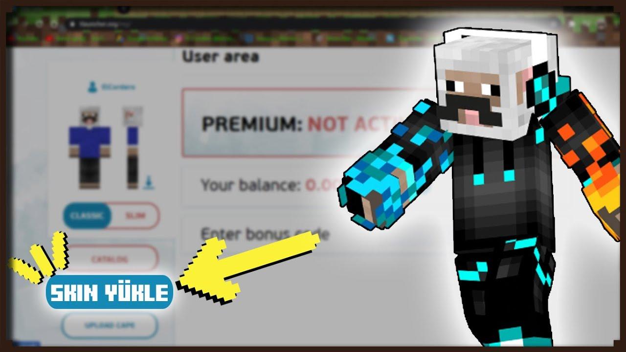 Minecraft - Skin Nasıl Yüklenir? (TLauncher)