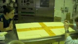 St George's Flag...made From Cheshire Cheese