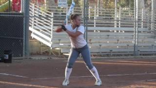 SeaEnna Satcher Class of 2018 (Third Base) - Softball Skills Video