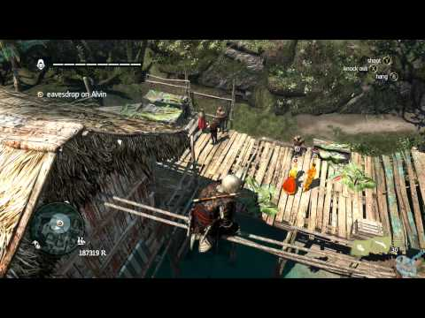 Assassin's Creed 4 Black Flag Templar Hunts 1 Opia Apito 100% Side Mission Walkthrough