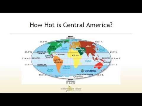 Central America Physical Geography