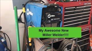 Miller XMT 350 CC/CV Arc Welder Purchase and 50 AMP PLUG Install