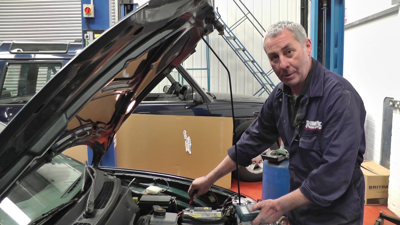 Replacing The Alternator And Belt On An Mgf Youtube Mg Mgtf Fuse Box Diagram