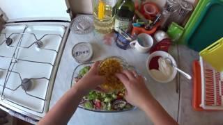 Салат с тунцом, быстро и вкусно