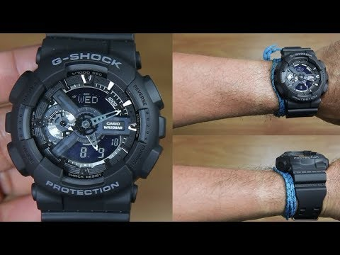 CASIO G-SHOCK GA-110-1B POPULAR SERIES - UNBOXING - YouTube 03afd7895d2d