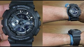CASIO G-SHOCK GA-110-1B POPULAR SERIES - UNBOXING