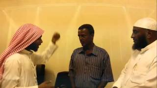 Brother Kibreab reverted to islam