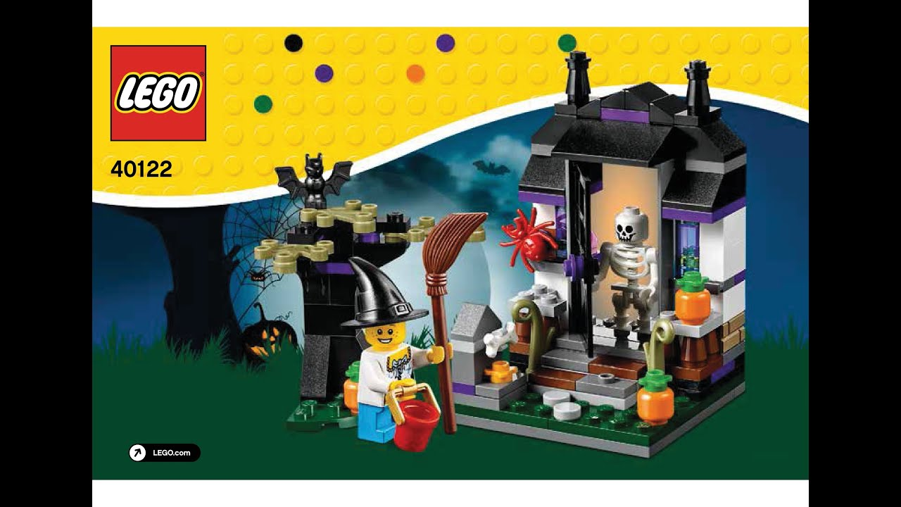 LEGO 40122 Trick or Treat Halloween Set Instructions LEGO SEASONAL ...