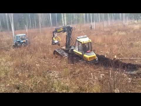 Bog Monters Mega Machines Heavy Equipment Stuck in Swamp Ice Timber Carrier Stalled Tractor Mud CNC