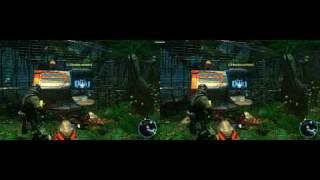 Avatar Demo Gameplay - Nvidia 3D Vision