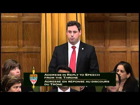 Maiden Speech in Response to the Speech from the Throne