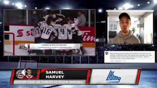 Samuel Harvey nous explique comment il se prépare mentalement pour ces matchs importants
