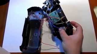ремонт машинки на радиоуправлении