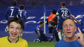 CHELSEA 2-0 REAL MADRID HIGHLIGHTS REACTION - Champions League