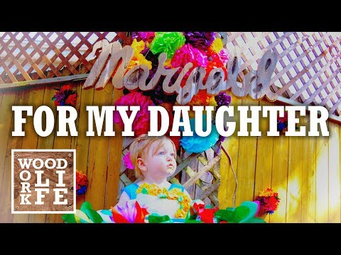 DIY Rustic Pallet Wood Sign - My Little Baby Turns One | Woodworking Builds