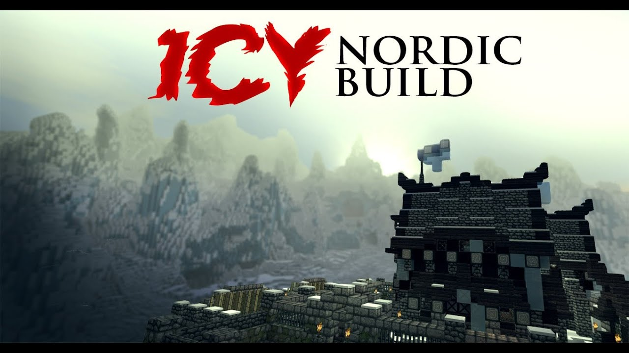 Massive Icy Mountain Build