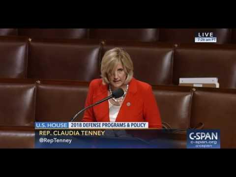 Rep. Tenney on Buy America Flatware Amendment to NDAA