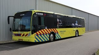 Eerste ambulancebus van Nederland rijdt in Noord-Nederland