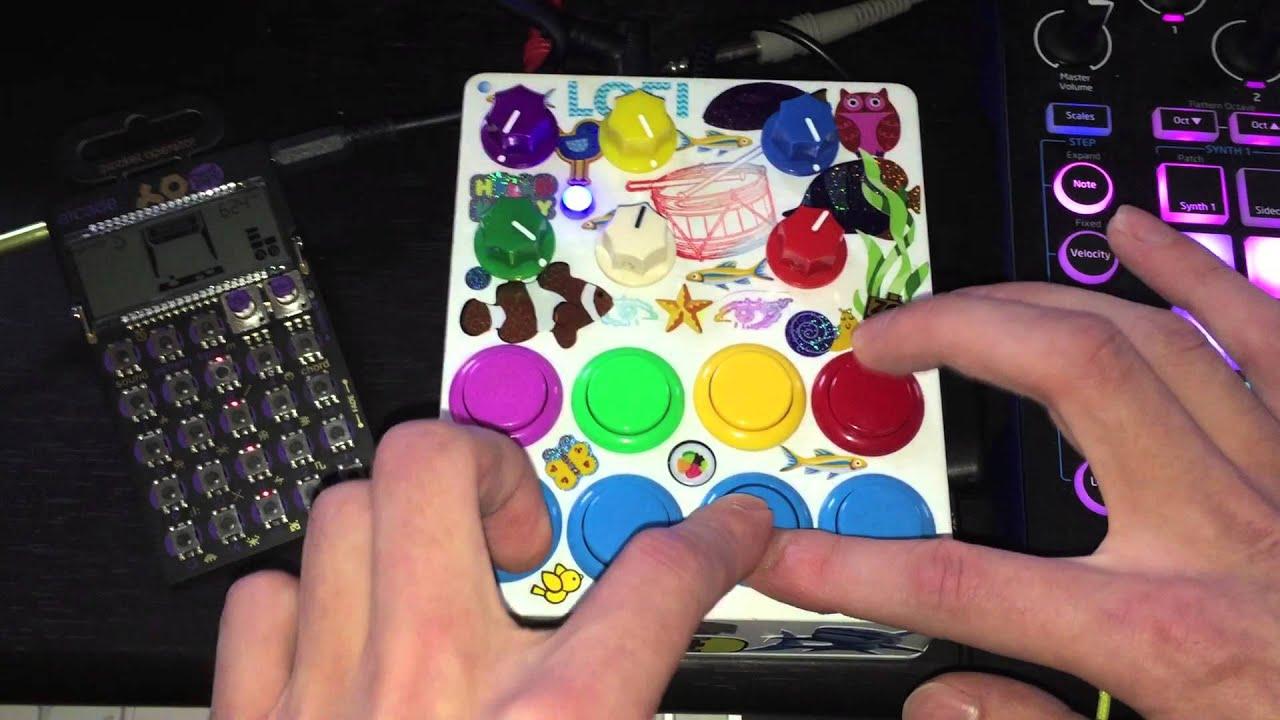 db043c0fcdcd7 LOFI DREAMs ∞∞ 12-BIT ultra lofi realtime arcade sampler // granular device  & live audio dreamscape