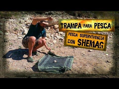 Pesca de Supervivencia con Shemagh | Trampa para Peces