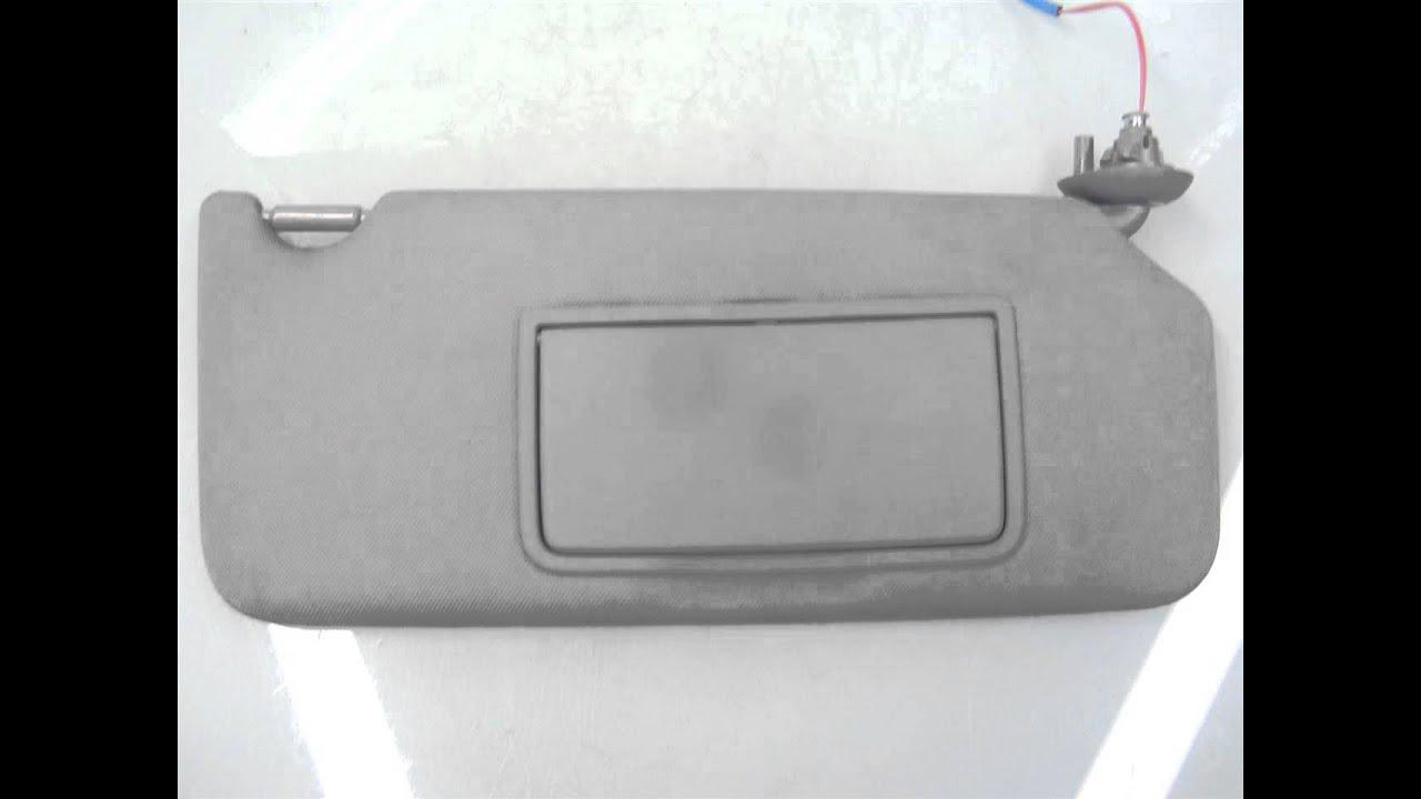 2013 Honda ACCORD RH SUN VISOR 4a009853460