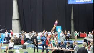 Листунова Вика  прыжок 2 /voronincup 2018