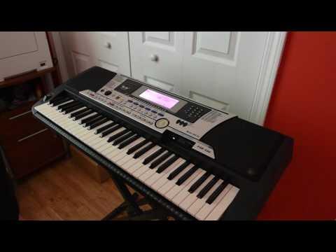 Yamaha PSR-550 Item/Sound Performance Demonstration (eBay Item: #191890042798)