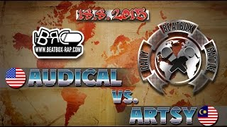vuclip Audical VS Artsy | Daily Beatbox Battle ( 2015-08-18 )